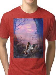 MORNING MYST Tri-blend T-Shirt