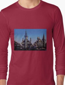 Witches' Houses, Johnston St, Annandale Long Sleeve T-Shirt