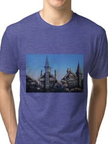 Witches' Houses, Johnston St, Annandale Tri-blend T-Shirt