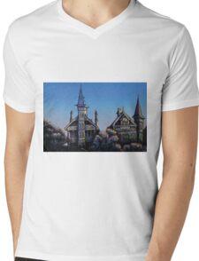 Witches' Houses, Johnston St, Annandale Mens V-Neck T-Shirt