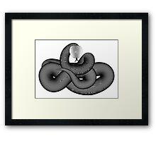 Any Color OP Snake! Framed Print