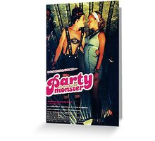 Party Monster Movie Poster Greeting Card