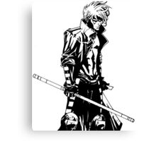 Gambit XMen Comic Art Canvas Print