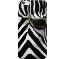 Zebra Eye African Wildlife iPhone Case/Skin
