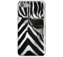Zebra Eye African Wildlife iPhone Case/Skin