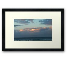 Day's End on Dreamtime Beach. Kingscliff, N.S.W. Nth. Coast. Framed Print