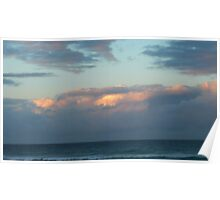 Day's End on Dreamtime Beach. Kingscliff, N.S.W. Nth. Coast. Poster