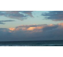 Day's End on Dreamtime Beach. Kingscliff, N.S.W. Nth. Coast. Photographic Print