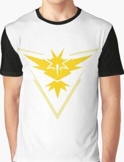 PokemonGo Blue Instinct Team Graphic T-Shirt