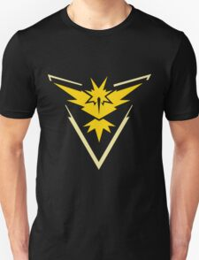 PokemonGo Yellow Instinct Team Unisex T-Shirt