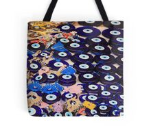 Protection From The Evil Eye - Boncuk Tote Bag