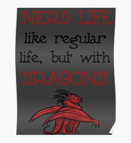 Nerd Life Poster
