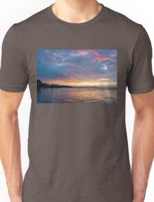 Just Before Sunrise - Toronto Skyline Under Spectacular Clouds Unisex T-Shirt