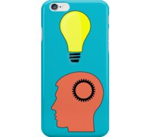 Idea and Solution concept iPhone Case/Skin