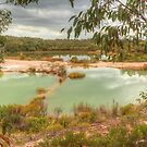 Tranquil Quarry by Michael Matthews
