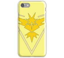 Pokemon GO: Team Instinct (Yellow) iPhone Case/Skin