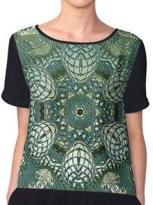 Multicolored kaleidoscope or mandala with a tribal look Chiffon Top
