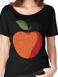 Beautiful Apple Painting Women's Relaxed Fit T-Shirt