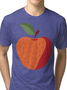 Beautiful Apple Painting Tri-blend T-Shirt