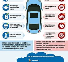 "An infographic on ""DO's and Don'ts in Auto Transmission"" by Infographics"