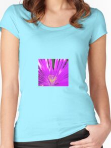 flowershow15 Women's Fitted Scoop T-Shirt