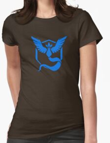 Pokemon GO: Team Mystic (Blue) Womens Fitted T-Shirt