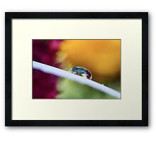 Steal the Storm Framed Print
