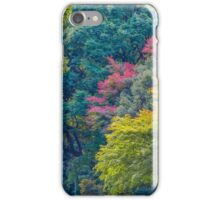 Layers Of Color- Trees in Tokyou iPhone Case/Skin