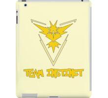 Pokemon GO: Team Instinct (Yellow) - Text iPad Case/Skin