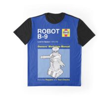 Haynes Manual - Lost in Space Robot - T-shirt Graphic T-Shirt