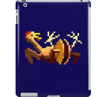 Rubber chicken with a pulley in the middle iPad Case/Skin