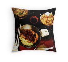 Comfort Food: Japanese Throw Pillow