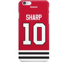 Chicago Blackhawks Patrick Sharp Jersey Back Phone Case iPhone Case/Skin