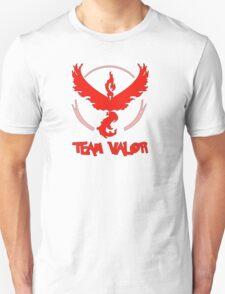 Pokemon GO: Team Valor (Red) - Text Unisex T-Shirt