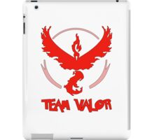 Pokemon GO: Team Valor (Red) - Text iPad Case/Skin