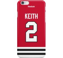 Chicago Blackhawks Duncan Keith Jersey Back Phone Case iPhone Case/Skin