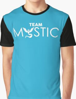 Team Mystic (white) Graphic T-Shirt