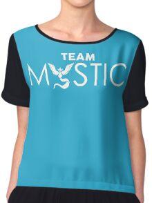Team Mystic (white) Chiffon Top