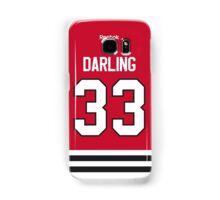 Chicago Blackhawks Scott Darling Jersey Back Phone Case Samsung Galaxy Case/Skin