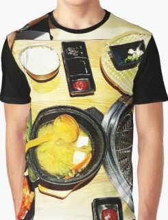 Comfort Food: Japanese BBQ Graphic T-Shirt