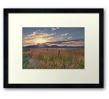 Broomfield Overlook Framed Print