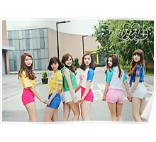 gfriend LOL poster 3 Poster