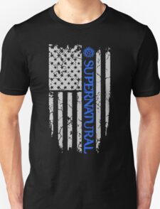 SUPERNATURAL FLAG Unisex T-Shirt