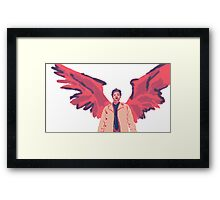 Castiel in #7 Framed Print