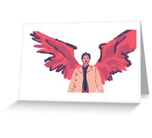 Castiel in #7 Greeting Card