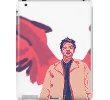 Castiel in #7 iPad Case/Skin
