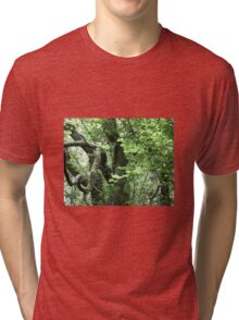 Hidden tree Tri-blend T-Shirt