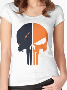 Punisher x Deathstroke Women's Fitted Scoop T-Shirt