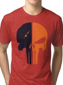 Punisher x Deathstroke Tri-blend T-Shirt
