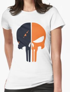 Punisher x Deathstroke Womens Fitted T-Shirt